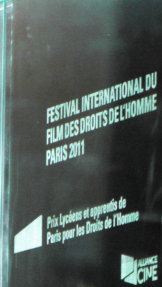 jury Audience award human rights film festival Paris France