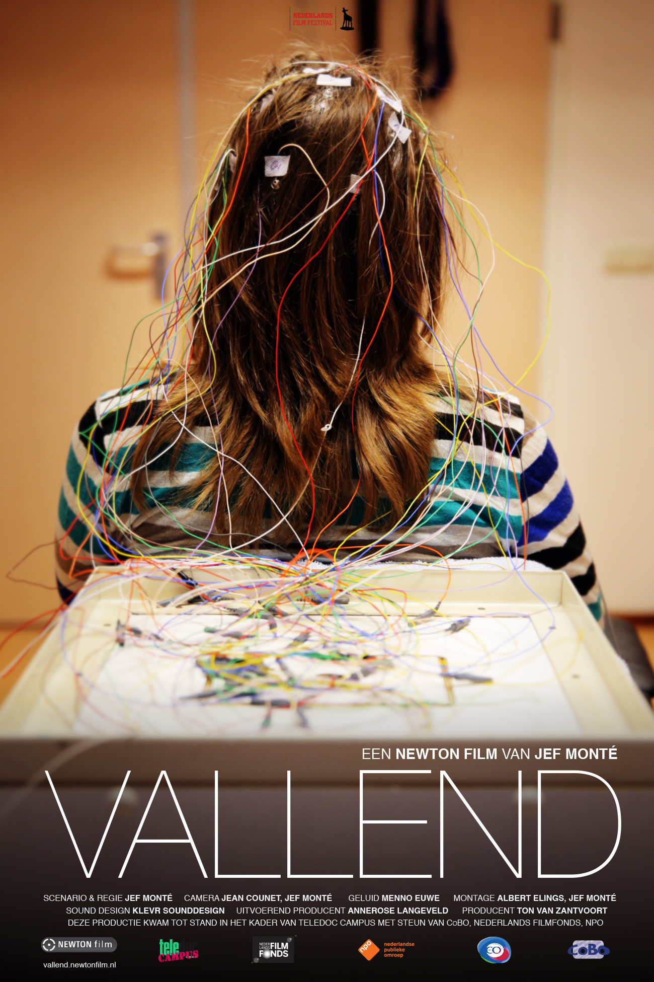 VALLEND poster Teledoc campus documentaire over epilepsie