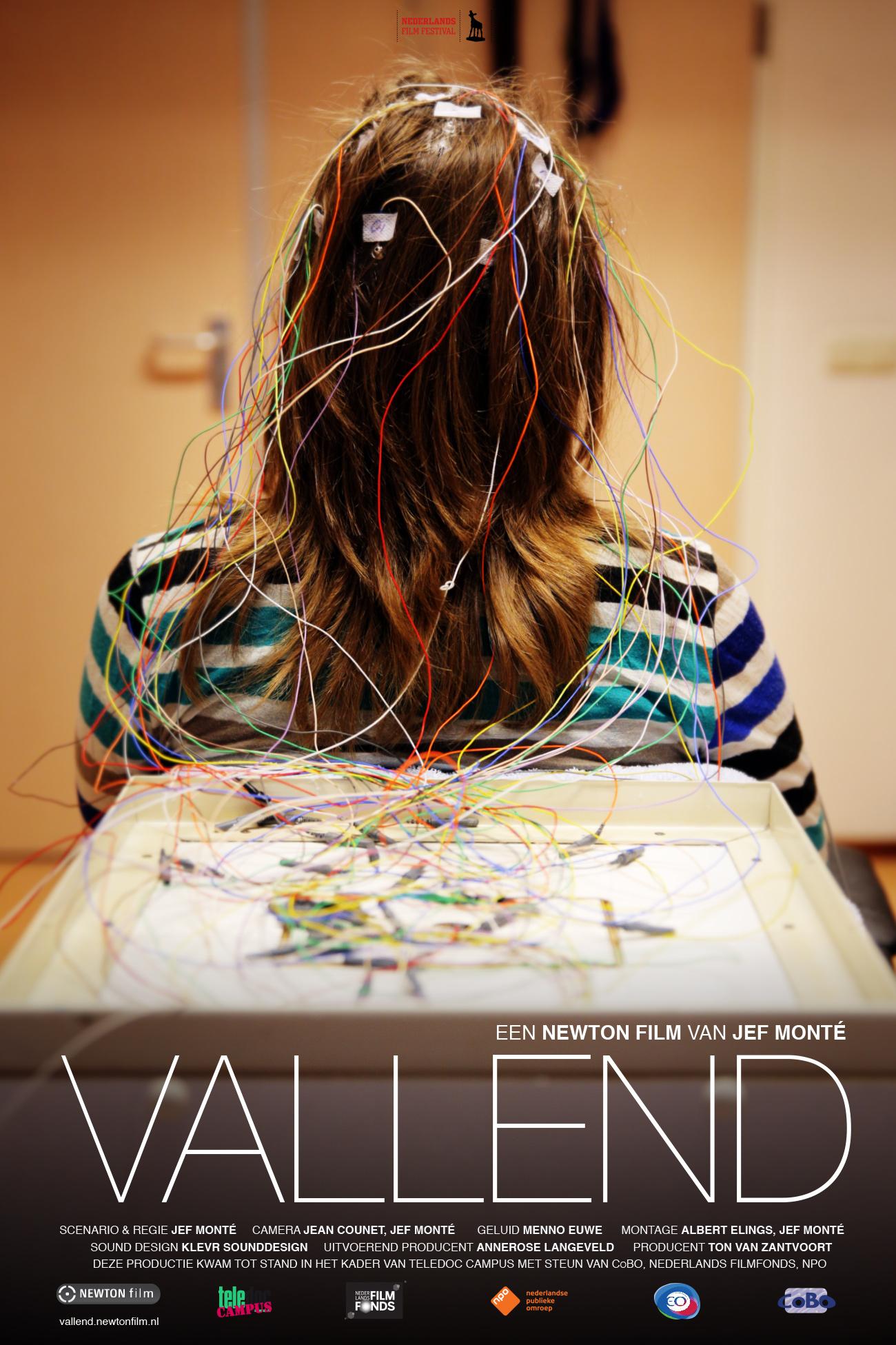 VALLEND poster Teledoc campus documentaire over epilepsie