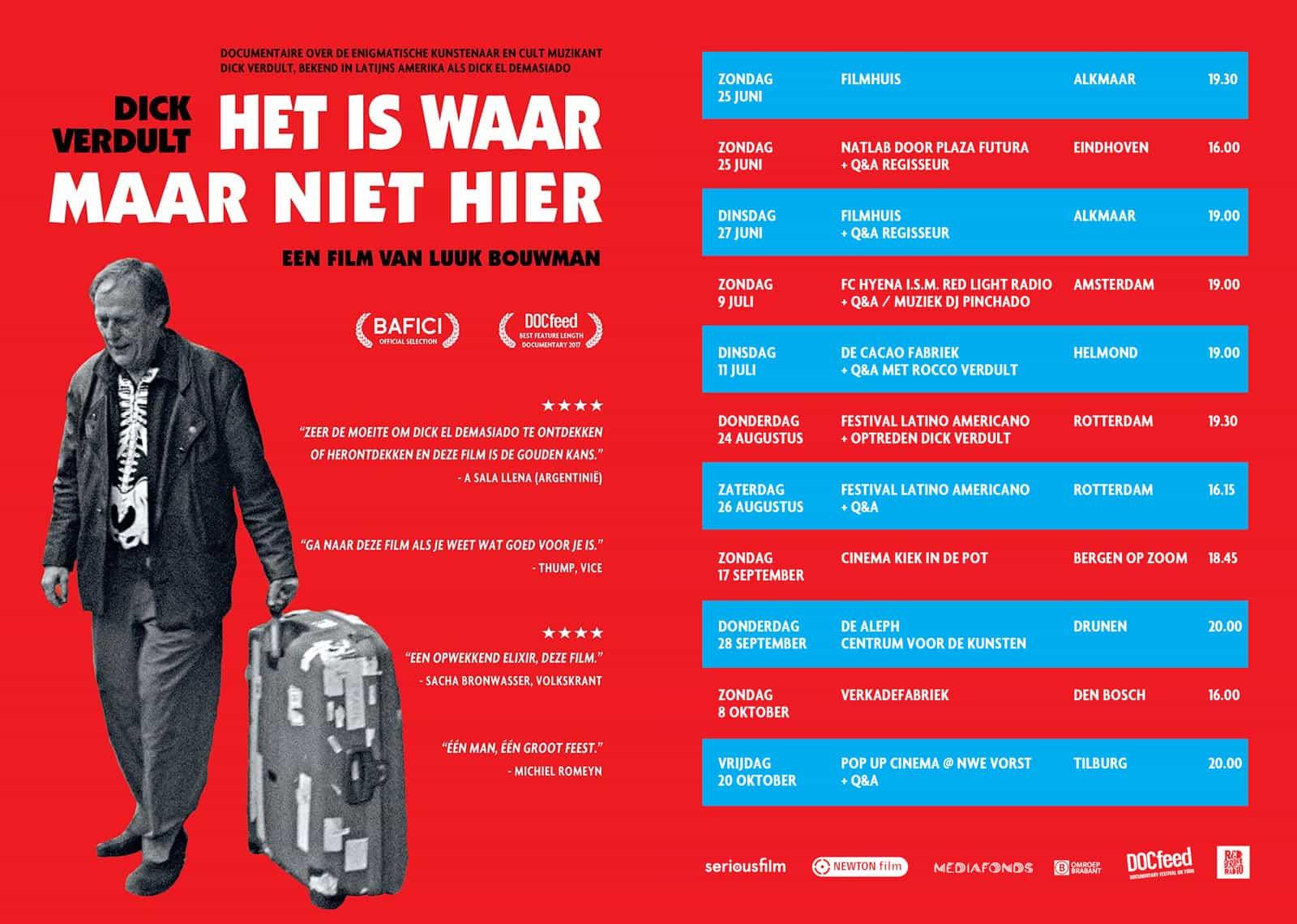 Vertoningen in Nederland