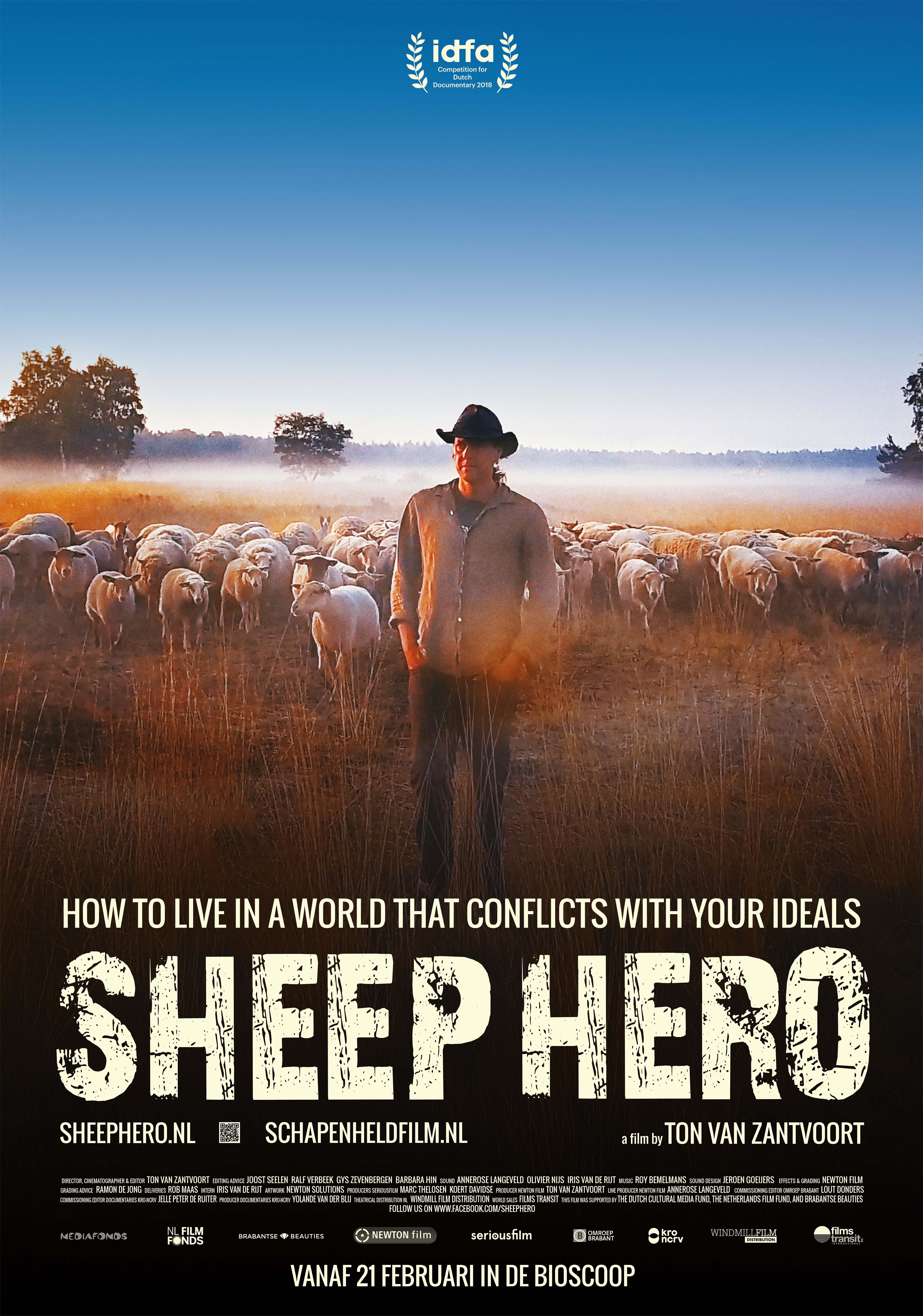 SHEEP HERO documentary poster