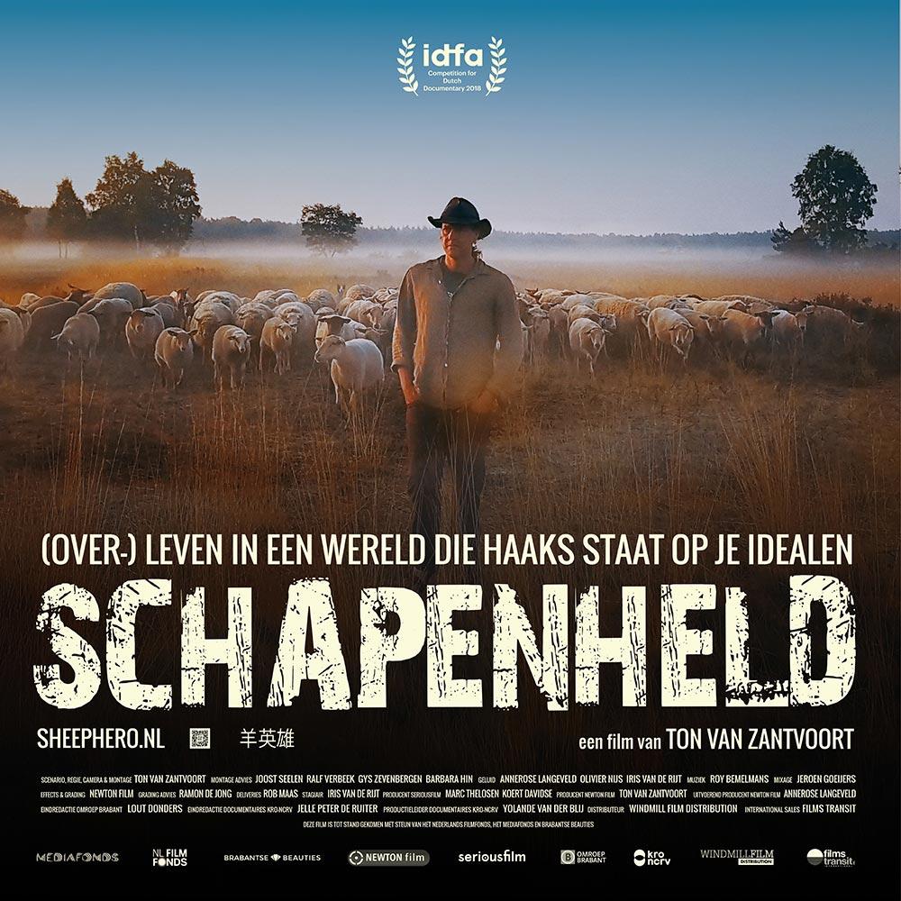 SCHAPENHELD - flyer vierkant