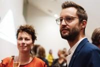 Componist Roy Bemelmans en uitvoerend producent Annerose Langeveld