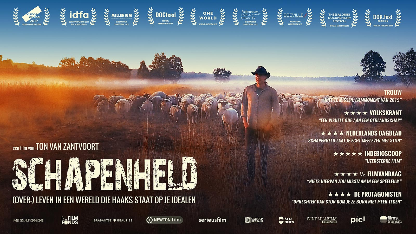 Aanrader beste film 2019 - SCHAPENHELD documentaire