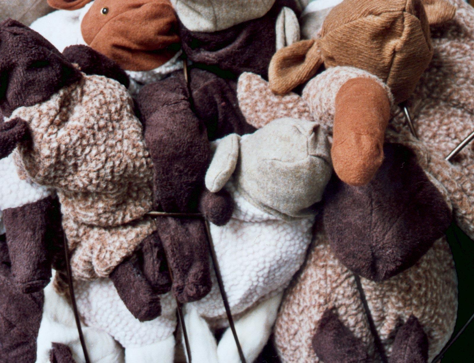 Schaapskooi-detail- Steun schapenheld