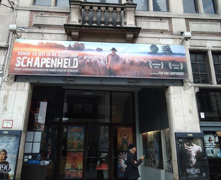 Bioscoop Gent tijdens Belgische Release
