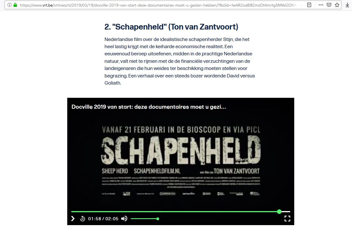 VRT NWS Ton van Zantvoort