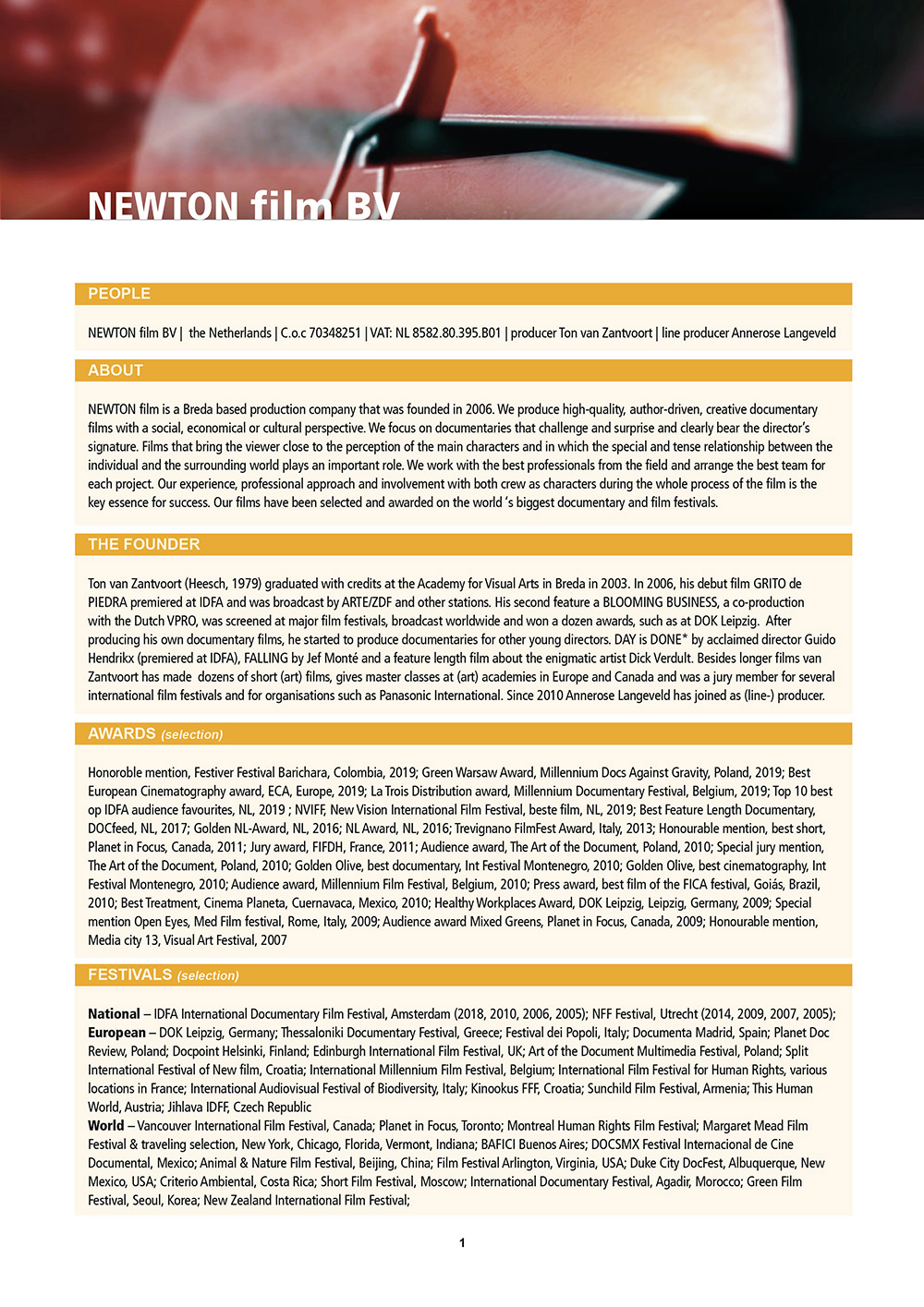 NEWTON-film-cv-page-1of5