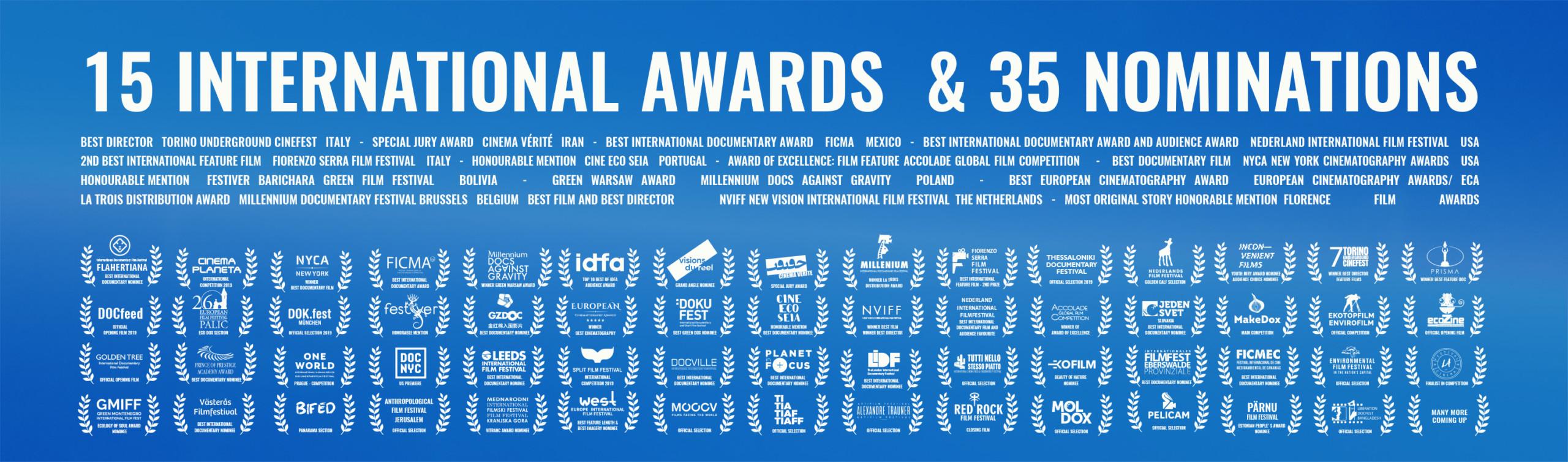 NOMINATIONS Ton-van-zantvoort-filmmaker - prijzen- awards-